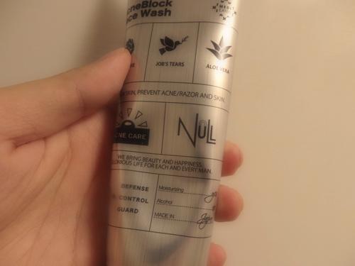 NULL洗顔料3